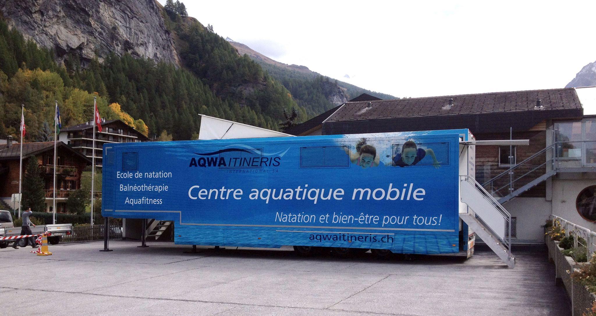 Piscine itin rante evol ne cours de natation enfants for Piscine mobile louer